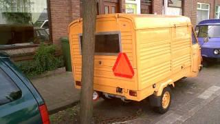 VESPA PIAGGIO APE CAR P2 with anti theft protection !!!