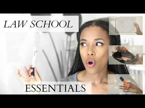 LAW SCHOOL I the ULTIMATE law  school ESSENTIALS I MUST HAVES I What's in my bag