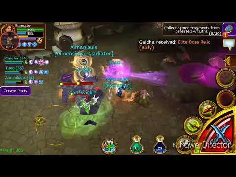 Arcane Legends - Farming The Elite Underhull Map