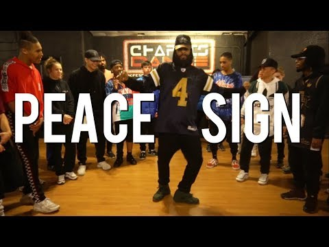 Peace Sign- Usher | Chapkis Dance | Taiwan Williams Choreography