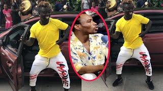 Pawlish Mbaye se paye une nouvelle voiture, bloque la route et clash Ouzin Keita «Kou sokhor do am