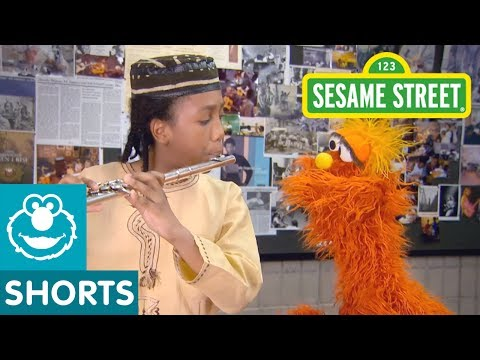 Sesame Street: Music School | Murray Had a Little Lamb