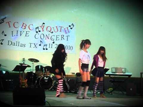 TCBC Concert 3 Girls Dance
