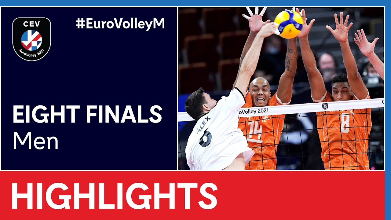 The Netherlands vs. Portugal Highlights - #EuroVolleyM
