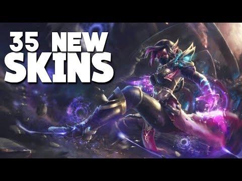 35 NEW UPCOMING SKINS! Mobile Legends