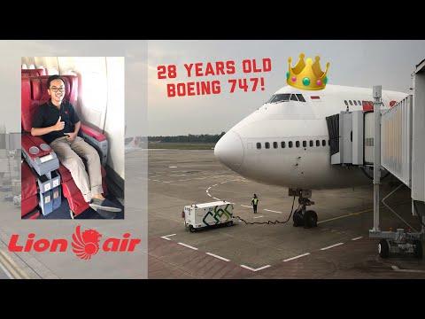RARE! Lion Air Boeing 747-400 Flight Experience | Jakarta to Batam | JT374