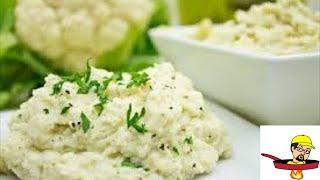 Parmesan Garlic Cauliflower Mashed Potatoes