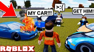 Mean Super Car Only Meet in Greenville Ends Bad.. (Roblox)