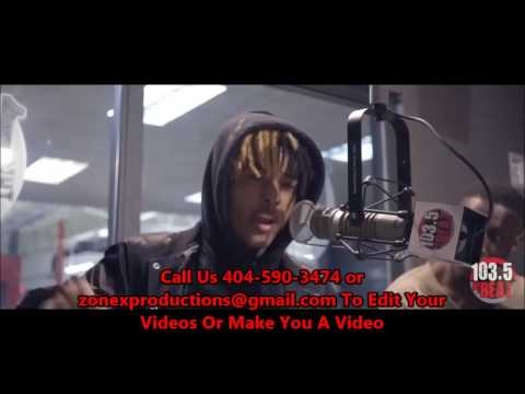 XXX Tentacion First Interview After Jail Discussing Drake @ 103.5 The Beat |