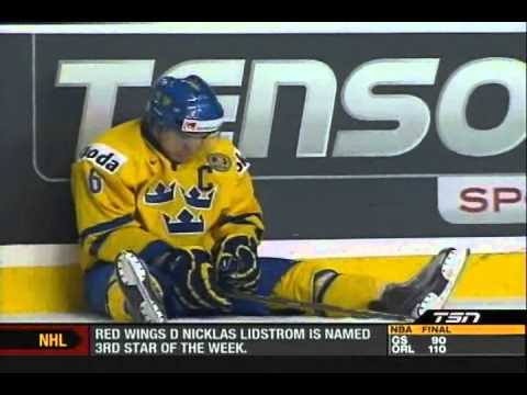 Robin Lehner Goes Off After WJC Refs Blown Call 2011-01-03