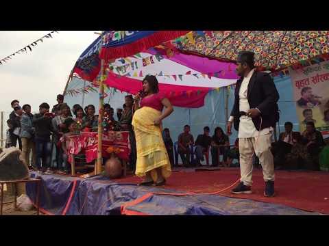 Nepali Comedy Stage By Late Baikare