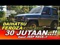30 Jutaan dapat JEEP Keren..!! Daihatsu Feroza 1994 | Walkaround