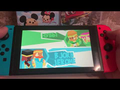 Nintendo switch handled gameplay. Stikbold!.A Dodgeball Adventure |