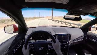 2016 Cadillac ATS-V Sedan Automatic - WR TV POV Test Drive