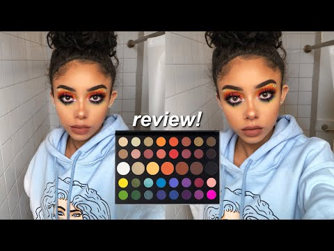 MORPHE X JAMES CHARLES PALETTE REVIEW/TUTORIAL thumbnail
