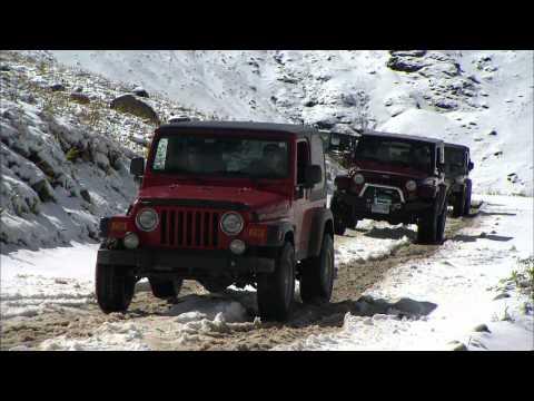Jeep Jamboree in Ouray, Colorado HD Video