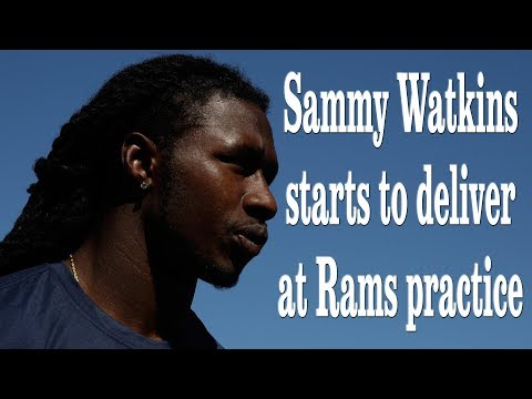 Sammy Watkins Quickly Impacting the Rams Offense | Los Angeles Times