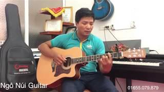Đừng Quên Tên Anh (Hoa Vinh) - Ngô Núi cover Guitar cực hay