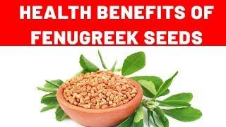 Health benefits of Fenugreek seeds  வெந்தயத்தின் மருத்துவ பலன்கள்