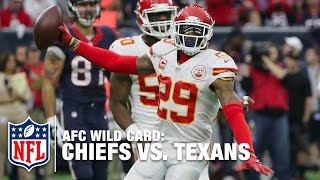 Chiefs' Defense Torments Brian Hoyer in 1st Half! | Chiefs vs. Texans | NFL