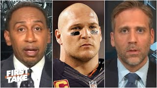 First Take reacts to the Bears disavowing Brian Urlacher following his criticism of NBA protests