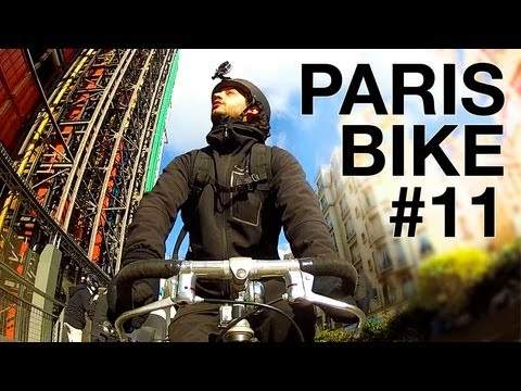 "Paris by Bike #11 : Around ""Beaubourg"" Georges Pompidou Center"
