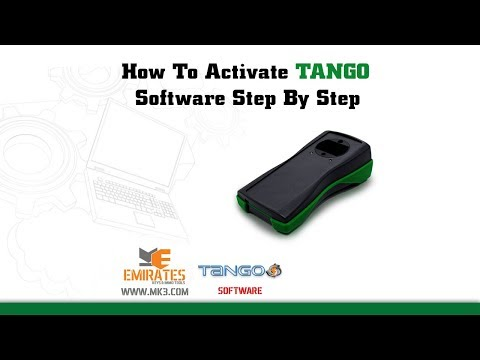 How To Activate TANGO Software Step By Step