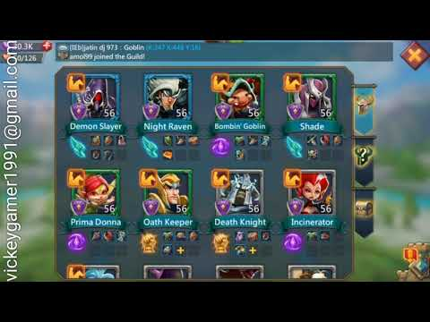 Lords Mobile Hindi Hack Basic Tips N Trick How To Upgrade Hero / Power / Experiance , Best Hero