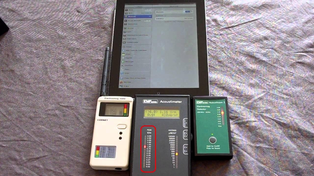 iPad Radiation (EMFs): How To Reduce Your Exposure - YouTube