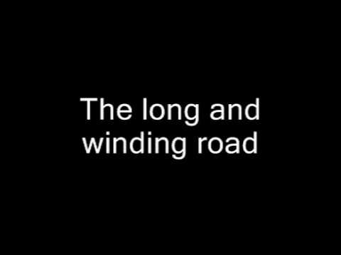 The Beatles - The Long And Winding Road -  ( cover karaoke Lino )