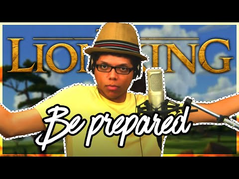 The Lion King - Be Prepared - Tay Zonday