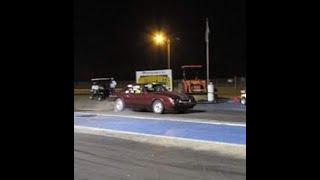 Mustang drag car video #2
