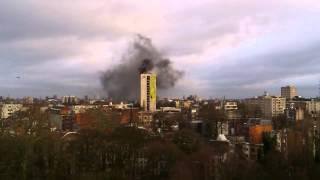 Antwerpen Provinciehuis Brand