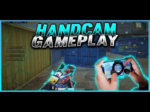 No Gyro Claw Handcam + Thumbsleeves | Pocof1 | Pubgmobile