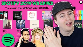 REACTING TO MY MOST PLAYED MUSIC OF 2019 (and the decade)