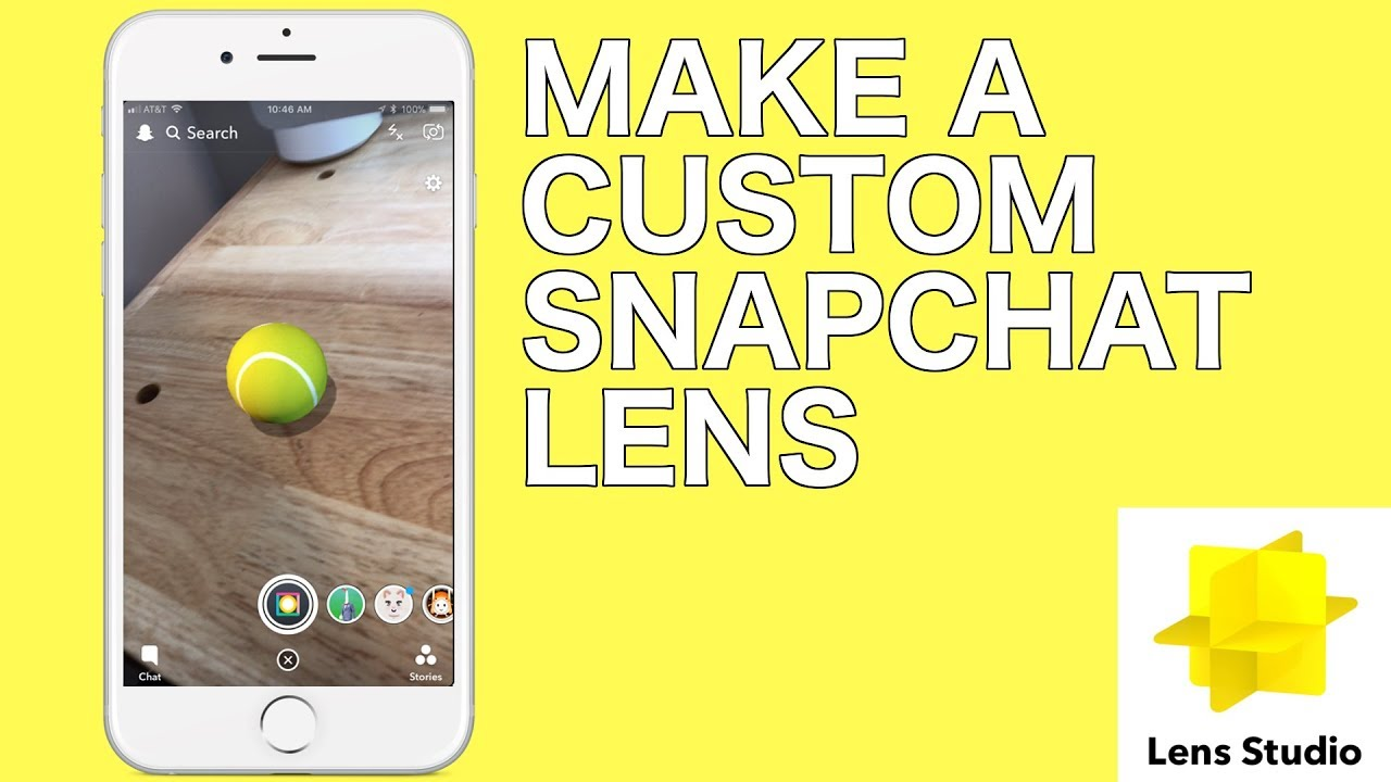 Make a Custom Snapchat Lens with Lens Studio