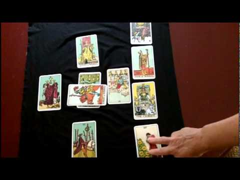 Tarot Card Reading Layouts Celtic Cross Layout Part Two Youtube