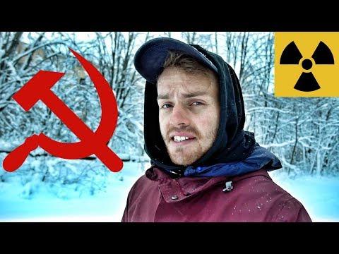 Abandoned Soviet Union Spy Base in Chernobyl (Anti-USA Propaganda)