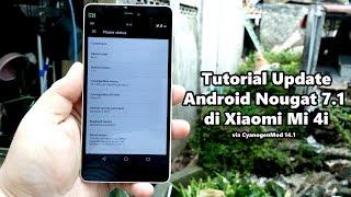 Tutorial Update Android 7.1 Nougat di Xiaomi Mi 4i