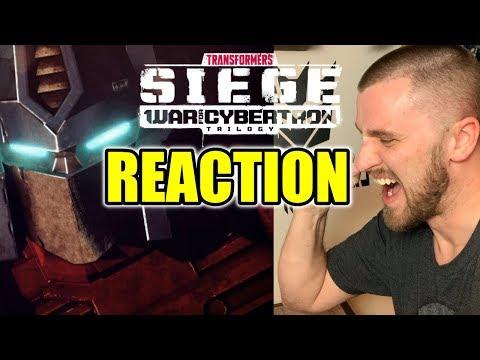 Transformers: War For Cybertron TRAILER REACTION (Toy Fair 2020)