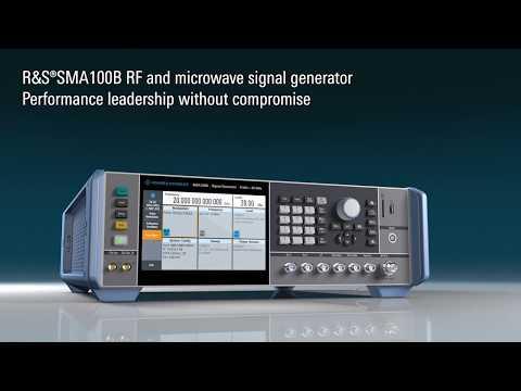 Rohde & Schwarz SMA100B RF Microwave Signal Generator