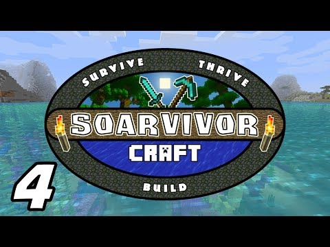 SoarvivorCraft - TOWN TOUR And SHOPPING SPREE - Minecraft 1.13 Multiplayer - Ep. 4