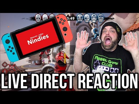 Nintendo Direct 3/20/18 LIVE REACTION with RGT 85!