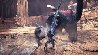 "[MHWI] Special Arena Nargacuga - Switch Axe (TA Rules w/ Claw) - 4'52""31"