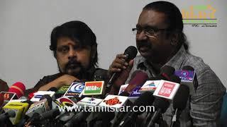 FEFSI Union Press Meet Sivaji Ganesan Statute Issue