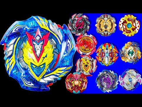 Beyblade Burst. Lost Package. Most Awaited bey Cho Z Valkyrie vs 10 Strongest Blades
