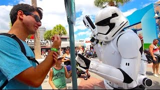 I GOT ARRESTED at Star Wars Launch Bay | DCP 2016