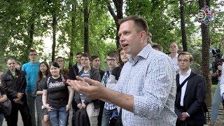 Штаб Навального сейчас вся Москва