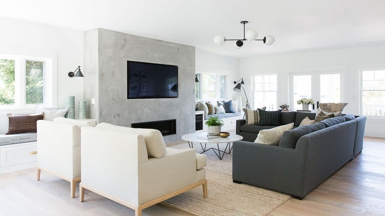 Mercer Island: Living Room + Entry Tour