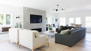 Mercer Island: Living Room + Entry Tour